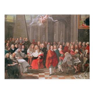 Group of Distinguished Gentlemen Born  Abbeville Postcard