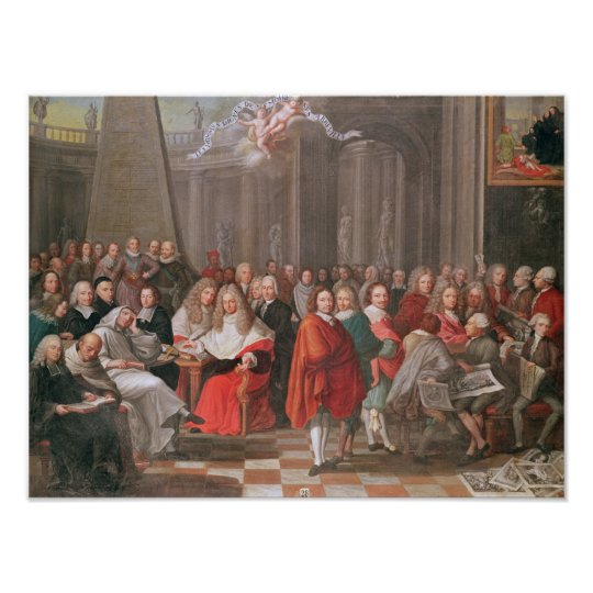 Group of Distinguished Gentlemen Born  Abbeville Poster