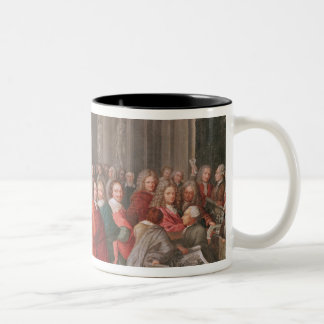 Group of Distinguished Gentlemen Born  Abbeville Two-Tone Coffee Mug