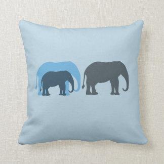 Group of Elephants American MoJo Pillow