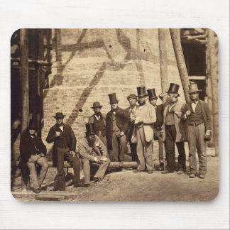 Group of Foremen, 1862 (photo) Mouse Pad