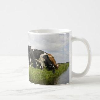 Group of Friesian cows Mug