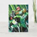 Group of Green Lanterns card