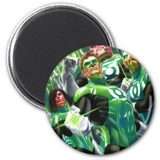 Group of Green Lanterns Magnet