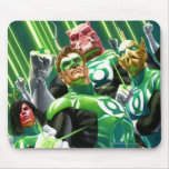 Group of Green Lanterns Mouse Pad