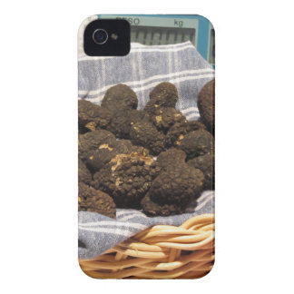 Group of italian expensive black truffles iPhone 4 Case-Mate case