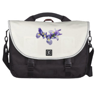 Group of Japanese Irises Computer Bag