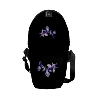 Group of Japanese Irises Courier Bag