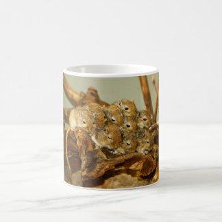 Group of Mongolian Gerbils Meriones Unguiculatus Classic White Coffee Mug