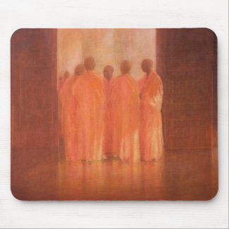 Group of Monks Vietnam Mouse Pad