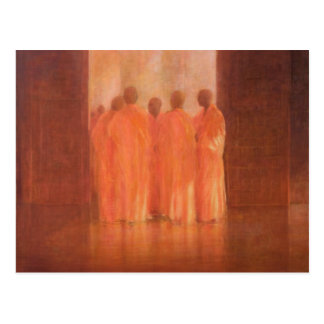 Group of Monks Vietnam Postcard