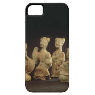 Group of Musicians, Dancers and Servants (terracot iPhone SE/5/5s Case