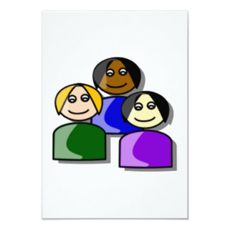 Group of People Card