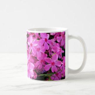 Group of Pink Phlox Coffee Mugs