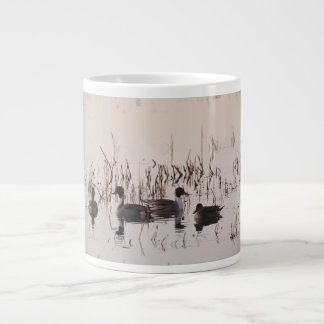 Group of Pintail Ducks Gather and Swims in a lake Jumbo Mugs
