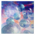 Group of Planets Ceramic Tile