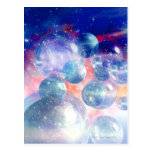 Group of Planets Postcard
