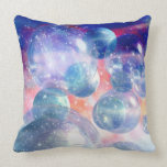 Group of Planets Throw Pillow
