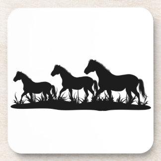 Group of Ponies Cork Coaster