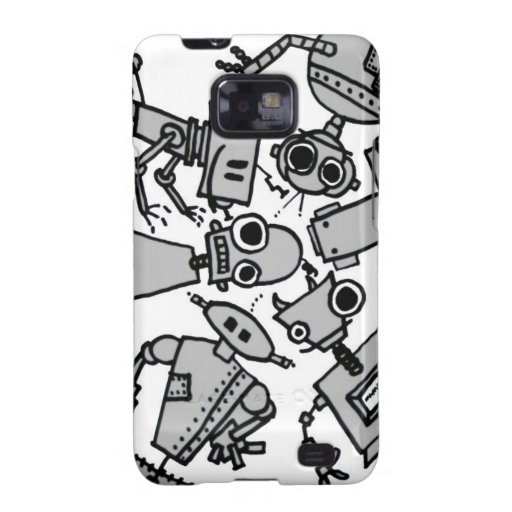 Group of robots samsung galaxy s2 cases