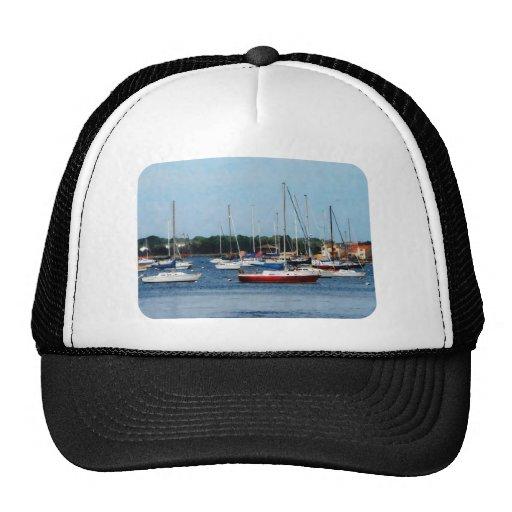 Group of Sailboats Newport RI Trucker Hat
