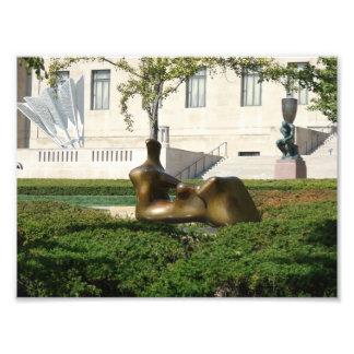 Group of Sculptures in Kansas City Art Photo