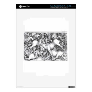 Group of Seven Wild Horses by Hans Baldung iPad 3 Decals