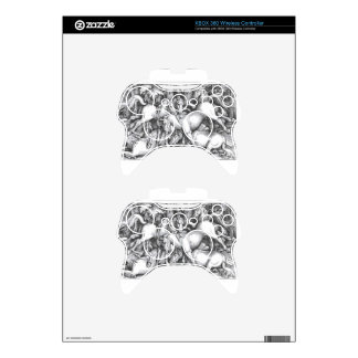 Group of Seven Wild Horses by Hans Baldung Xbox 360 Controller Skins