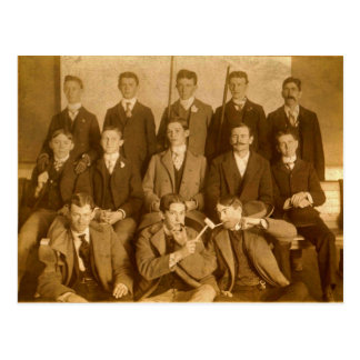 Group of Silly Poolroom Hotshots, circa 1900 Post Cards