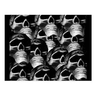 Group of Skulls-2012 Postcard