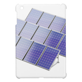 Group of solar panels cover for the iPad mini