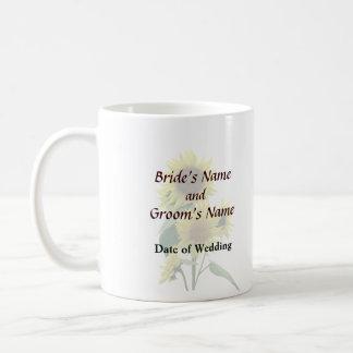 Group of Sunflowers Wedding Products Coffee Mug