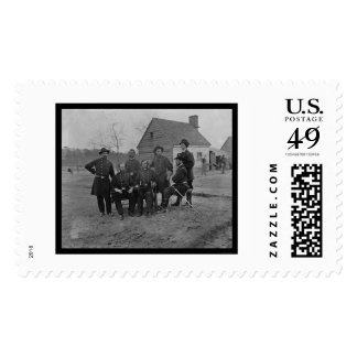 Group of Surgeons at Fort Harrison, VA 1865 Stamps