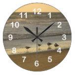 Group of Terns Clock