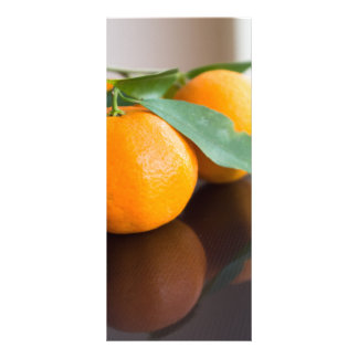 Group of the fresh tangerines rack card