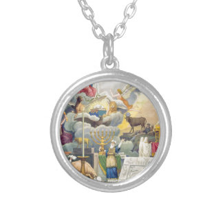 Group of tho World's Religions Silver Plated Necklace