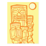 Group of Tikis Post Cards