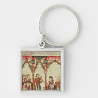 Group of Troubadours Keychain