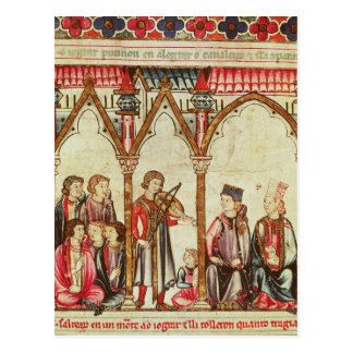 Group of Troubadours Postcard
