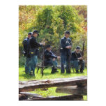 Group of Union Soldiers 5x7 Paper Invitation Card