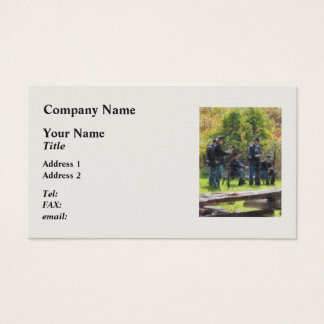Group of Union Soldiers Business Card