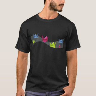 Group of various Origami swan T-Shirt