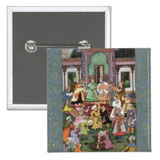 Group of Whirling Dervishes, from the Large Clive Pinback Buttons