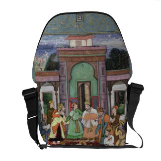 Group of Whirling Dervishes, from the Large Clive Messenger Bags