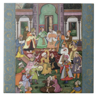 Group of Whirling Dervishes, from the Large Clive Tile