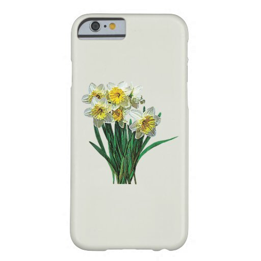 Group of White Daffodils iPhone 6 Case