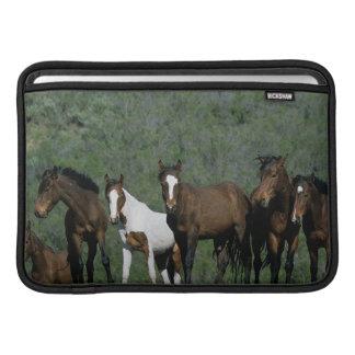Group of Wild Mustang Horses MacBook Air Sleeve