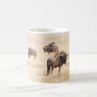 Group of wildebeest coffee mug