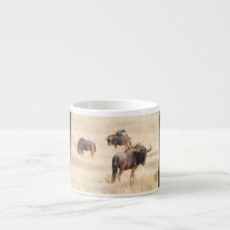 Group of wildebeest espresso cup