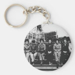 Group of Women Welders During World War Two Basic Round Button Keychain